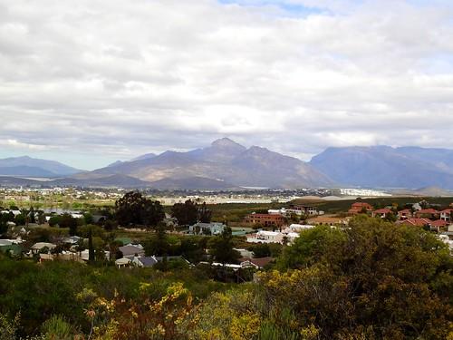Чудный вид на Вурстер и окружающие горы