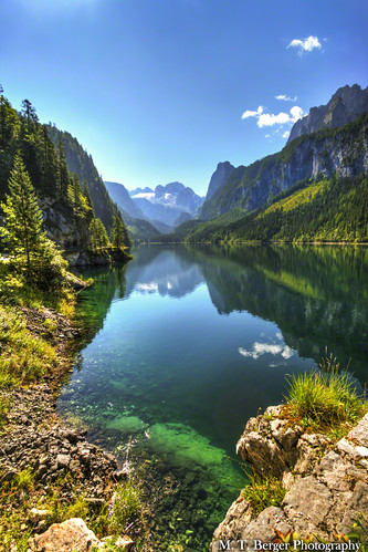 lake mountains nature water landscape austria österreich amazing view landschaft gosau skyfeezer