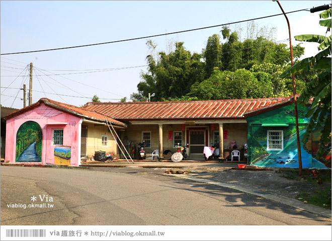 【關廟彩繪村】新光里彩繪村~在北寮老街裡散步‧遇見全台最藝術風味的彩繪村17