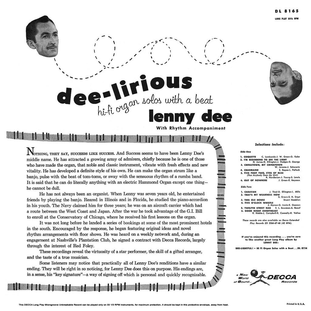 Lenny Dee - Dee-Lirious