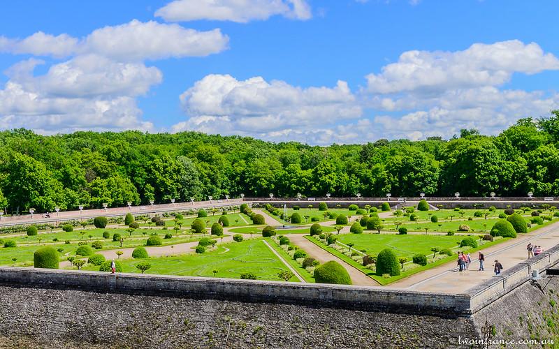 Jardin de Diane - Château de Chenonceau