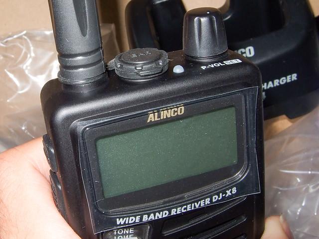 ALINCO DJ-X8