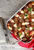 Boulettes de viande (polpette) tomate et mozzarella