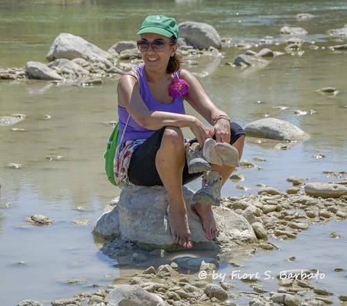 Roccavivara (CB), 2004, Il fiume Trigno.