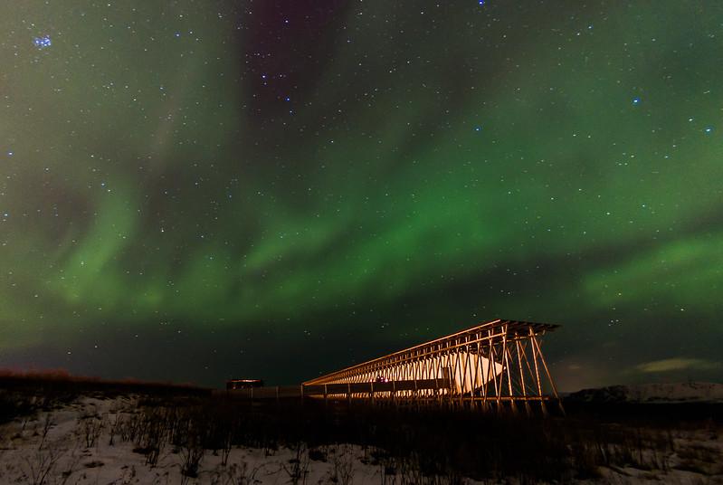 SteilnesetMemorial aurora boreal