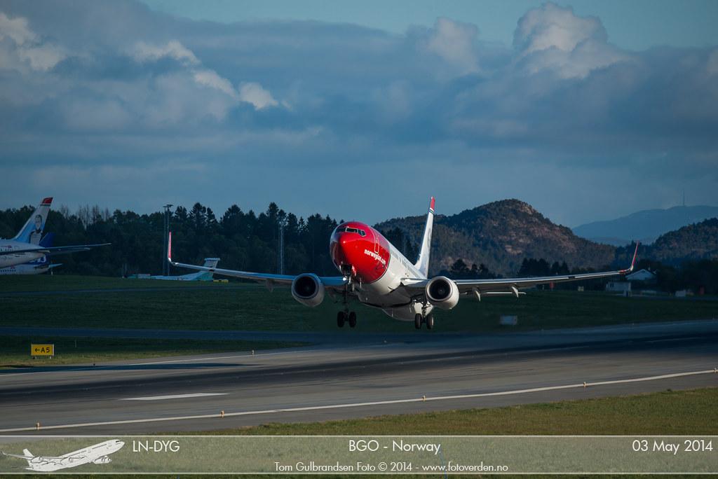 LN-DYG - B738 - Norwegian
