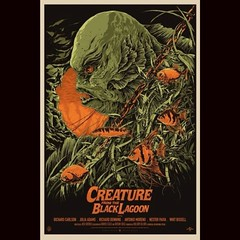 Creature From The Black Lagoon by Francesco Francavilla. #Comics #horror