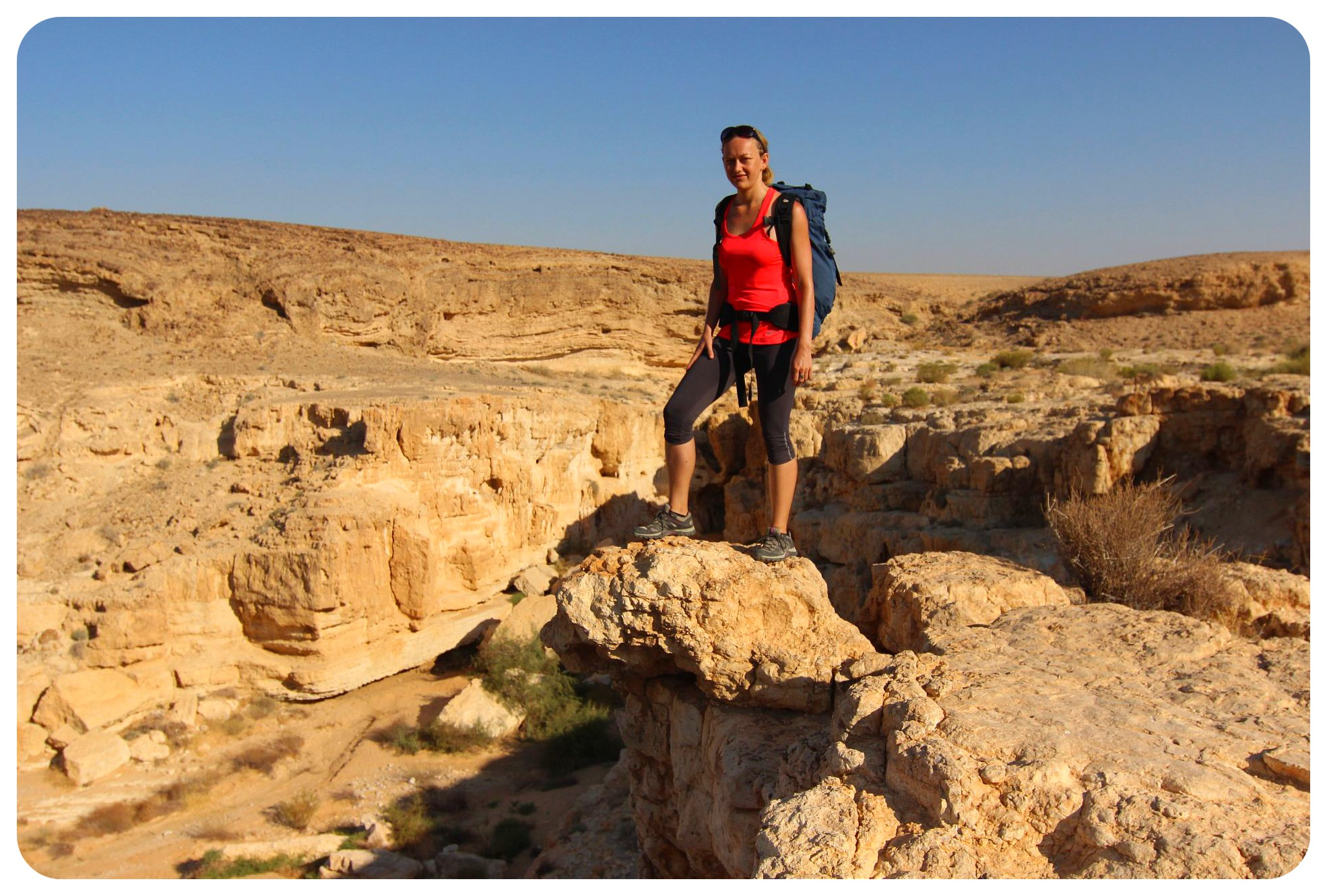 dani negev desert hike