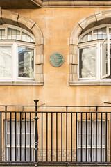 Photo of Cedric Keith Simpson green plaque