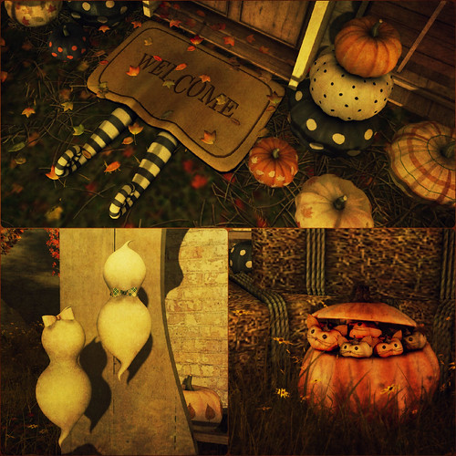 Ghostly Autumn Collage2