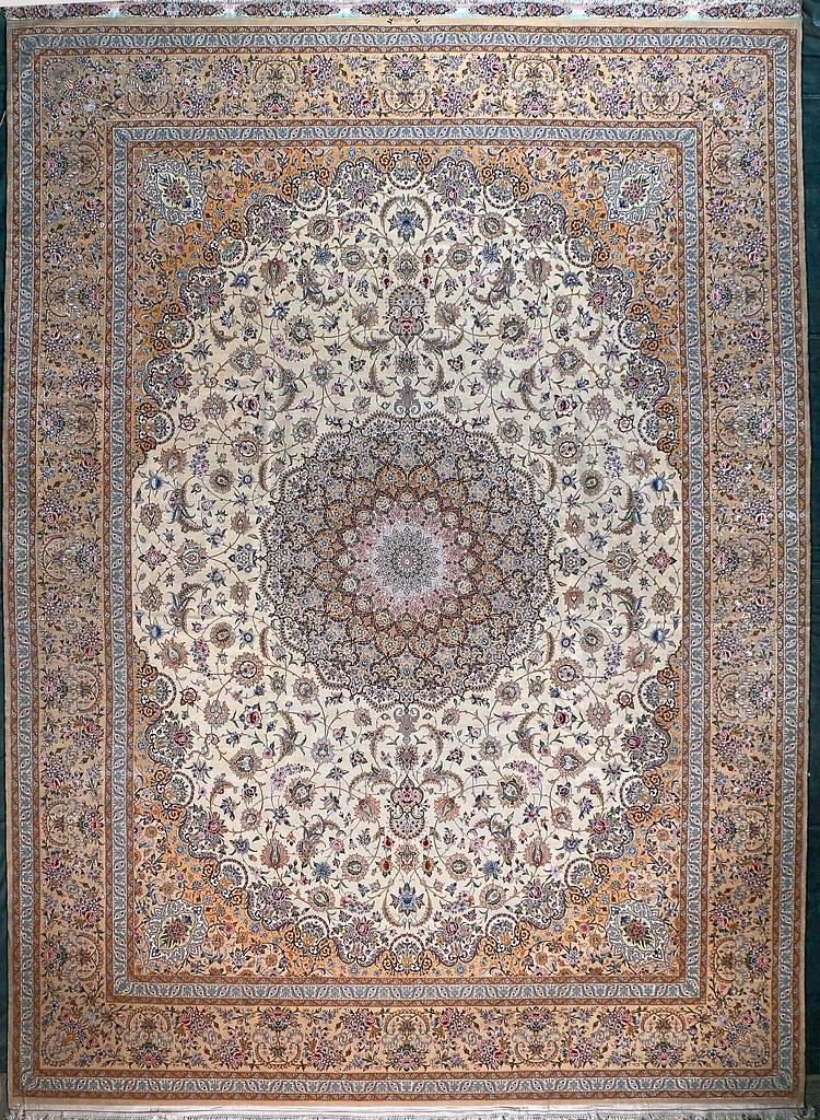 Isfahan 3300 Kheft rahbar private Collection Pair