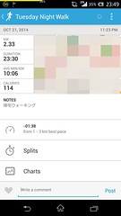 20141021_RunKeeper(Walking)