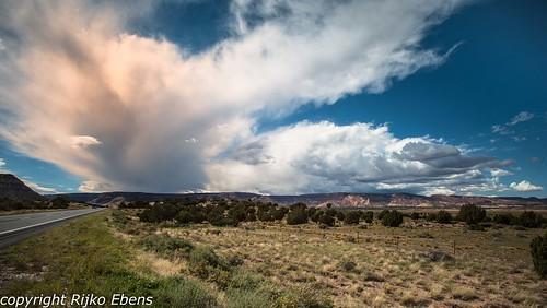 arizona usa storm clouds kayenta stormclouds verenigdestaten