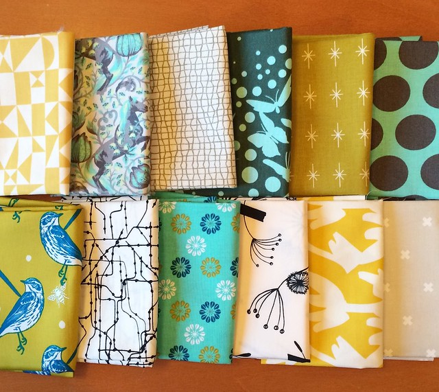 she can quilt bloggers bundle - Fabric Spark