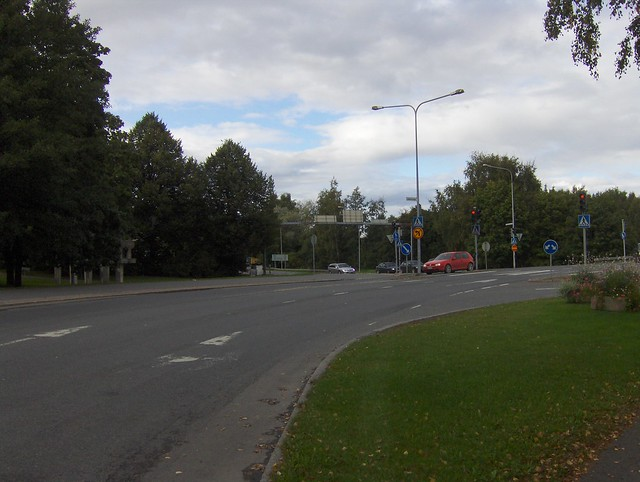 Hämeenlinnan moottoritiekate ja Goodman-kauppakeskus: Työmaan lähtötilanne 3.9.2011 - kuva 3