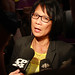Olivia Chow Facing the Media by Alex Guibord