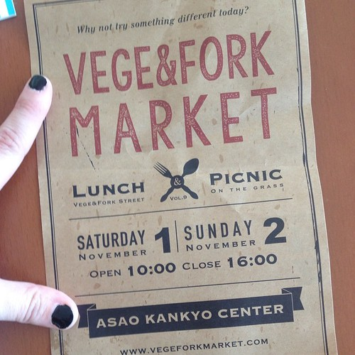 Sounds like a vegan festival is coming soon!