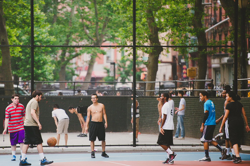 Basketball in Chinatown