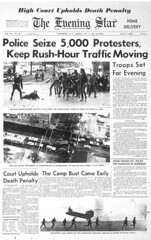 Police Seize 5,000 Protesters: Mayday 1971