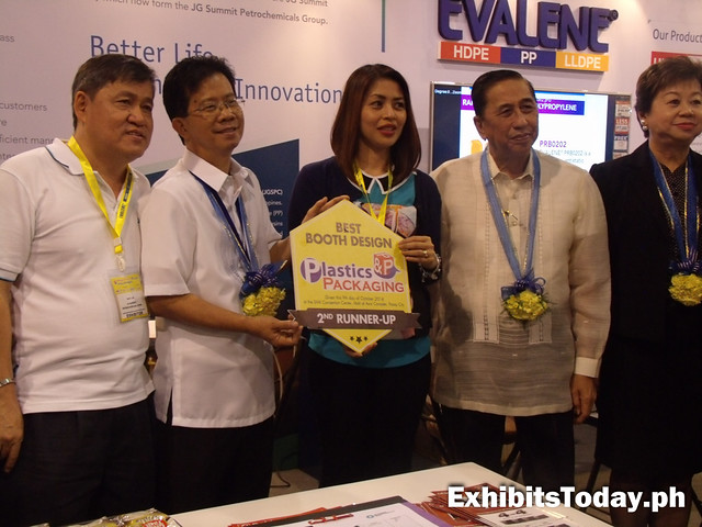Evalene wins 2nd runner-up Print and Packaging Best Booth Design