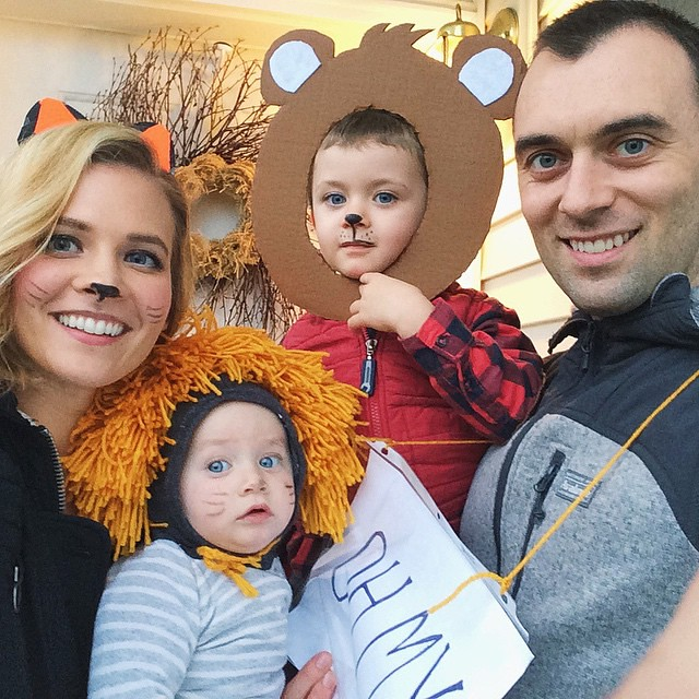 Lions and tigers and bears OH MY! Happy Halloween!!!