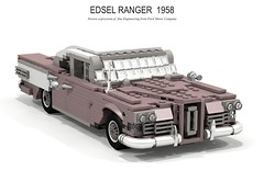 Edsel Ranger Sedan 1958