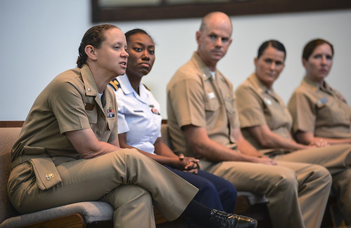 Joint Base Pearl Harbor-Hickam Hosts Women's Waterfront Symposium