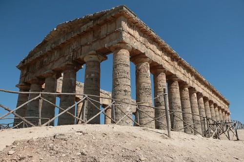Segesta: l'antico tempio