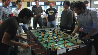 RoboGrads Halloween Party 2014--Foosball