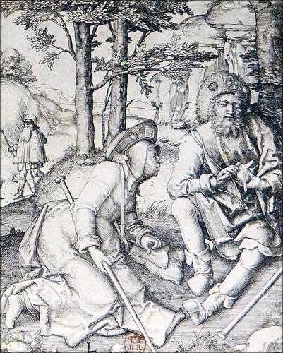 Pèlerins au repos (Musée national du Moyen Âge)