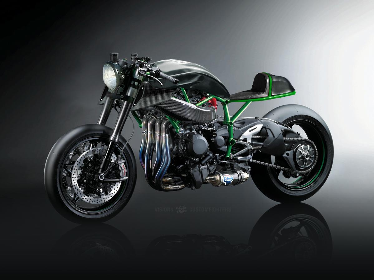 Naked Kawasaki H2R