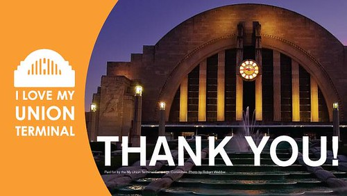 Union Terminal, SAVED!