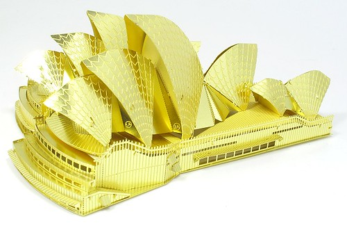 Opera House in brass