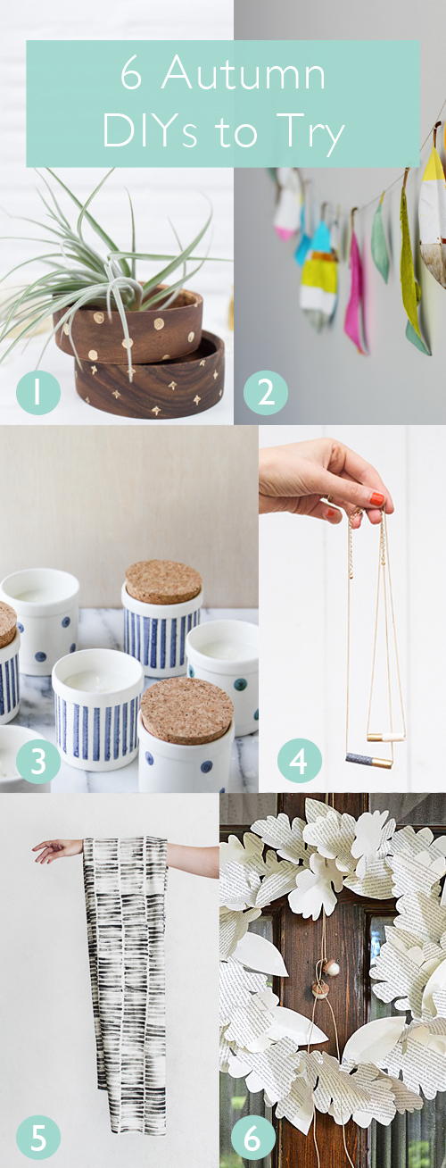 6 Autumn DIYs to Try | www.vitaminihandmade.com