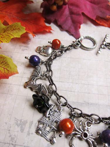 Happy Halloween Charm Bracelet