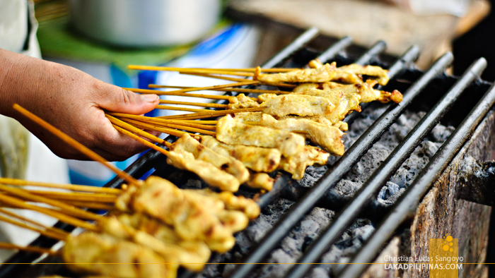 Satay at Chiang Mai Hawker Street Food