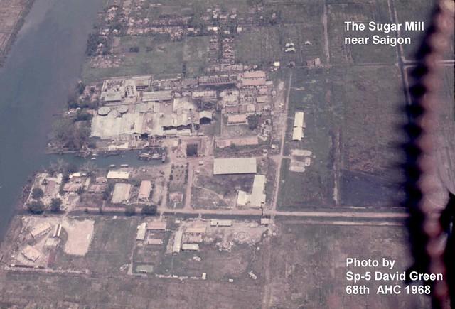 P_DG_082 HIEP HOA SUGAR REFINERY Nhà máy đường Hiệp Hòa, Long An. Photo by Sp-5  David Green
