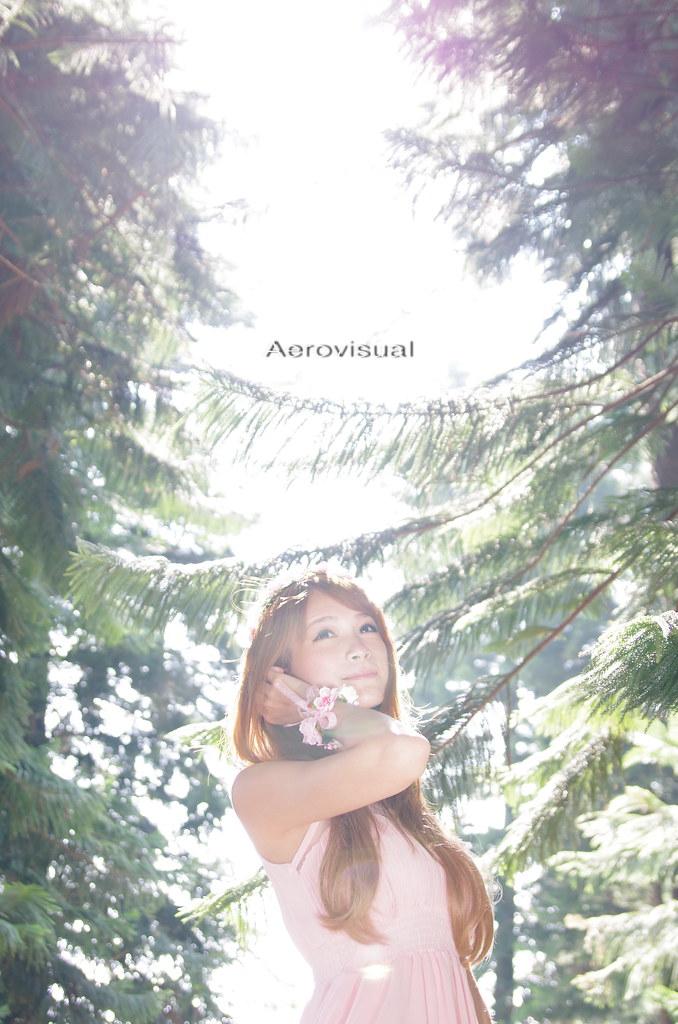 2014-10-19 VIVI 都會公園 & 九天森林外拍~