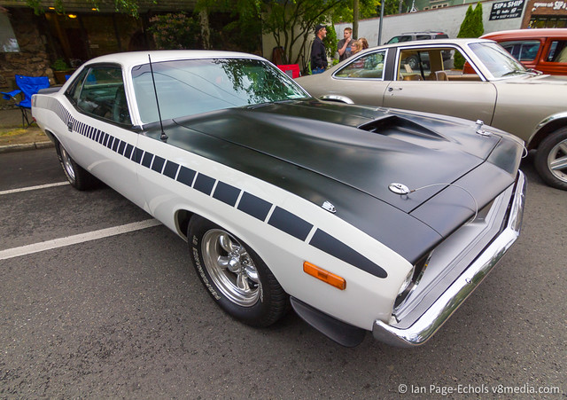 Black and White MOPAR