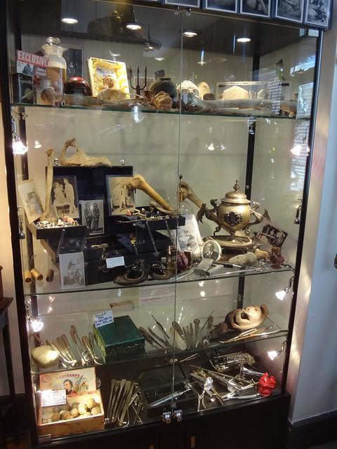 Fivehands display case