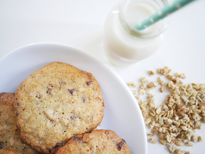 granola chocolate chip cookies recipe 4