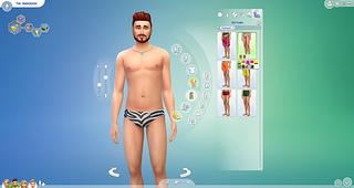 The Sims 4 pool swim suit 1