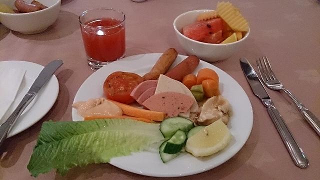 リビエラホテルの朝食