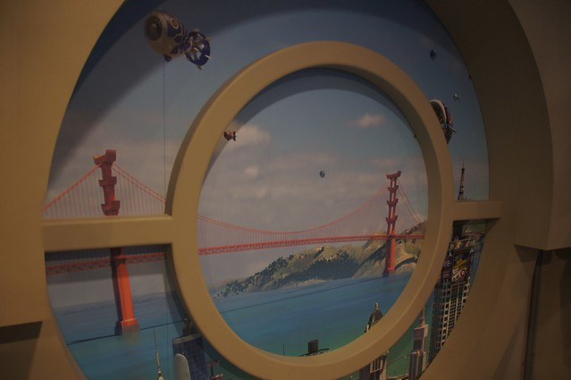 Big Hero 6 meet and greet at Walt Disney World