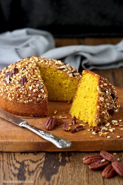 pumpkin granola cake2