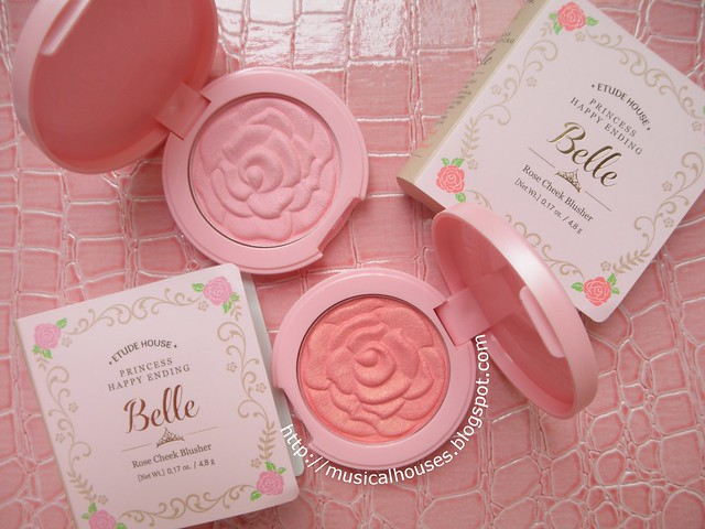 Etude House Disney Princess Belle Rose Cheek Blusher