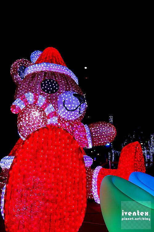 41刀口力2014新北市歡樂耶誕城新北市市民廣場Q萌熊樂園