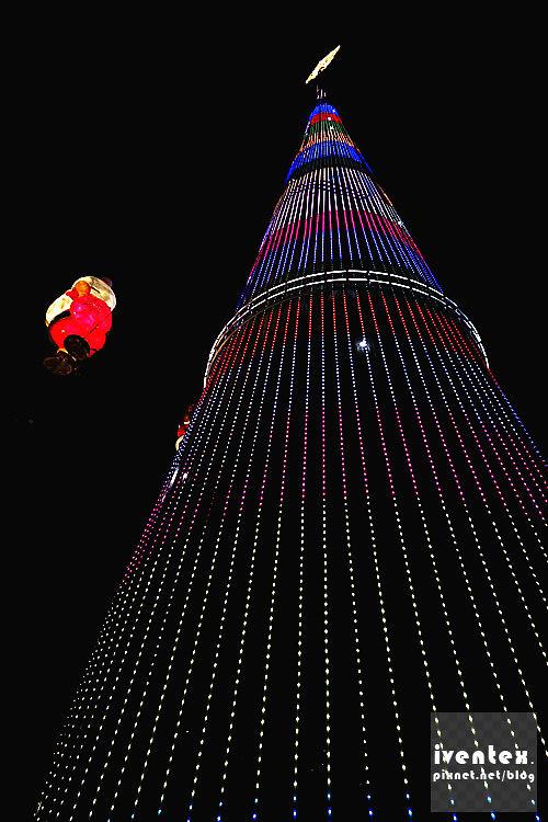 28刀口力2014新北市歡樂耶誕城新北市市民廣場耶誕樹.