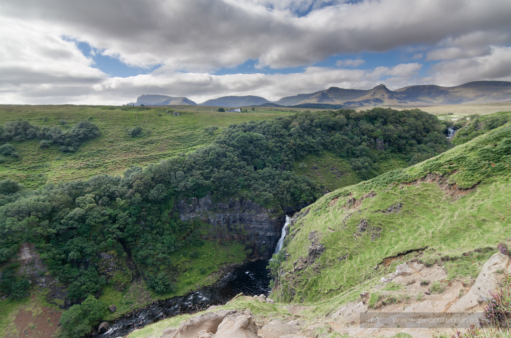 Lealt falls - isla de Skye - Escocia