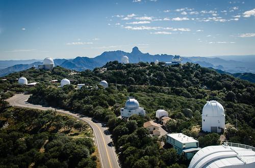 arizona mountains telescope kittpeak centeroftheuniverse telescopedome saradome